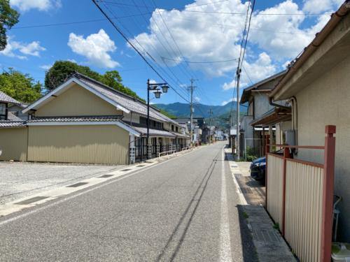 北国西街道会田宿